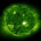 Gamma Ray Image of the Sun