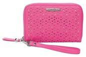 Chelsea Tech Wallet- Pink Perf