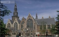 This is the Oude Kerk in Amsterdam