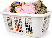 Washing all those cloths can be a hassle so we  take out a few steps to speed it up a bit.