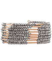 SOLD!!!!        Bardot Spiral Bangle - Rose Gold Sparkly