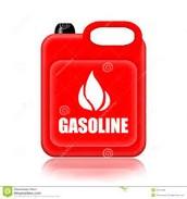 El incendio- la gasolina