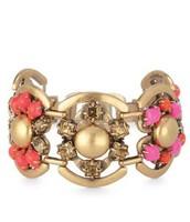 Becca Bracelet - Pink/Orange $45