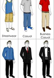 No dress code!