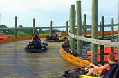 The Track! Located in Gulf Shores, Alabama