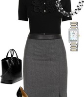 DO: Skirt and Blouse
