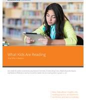 What Kids are Reading and Why It Matters