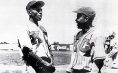 Satchel and Jackie Robinson