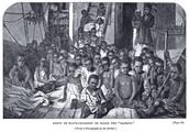 Slave children on slave ship