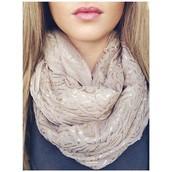 Metallic Trellis Westwood scarf  Was $59 Now $30
