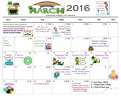 Upcoming activities in March and April!
