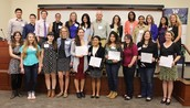 The Department of Communication just awarded over $100,000 in scholarships last month!