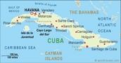La Mapa de Cuba