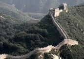 The great wall of china in inches