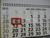 van 6 juli