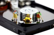 Cleaning Hard Disk Drives