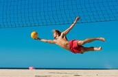 Volleyball beach tourney