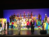 Southwood Students in Seussical