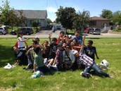 All Boys Class at Dunrankin Drive P.S
