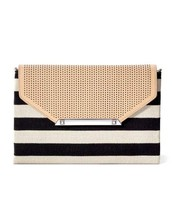 City Slim Stripe Clutch