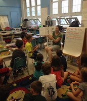 Mrs. LeGrand Reading to the Class