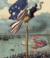 U.S winning its Independence