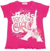 paris print T-shirt