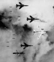 U.S rolling thunder air strikes