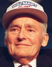 The Buisiness Starter of Wal-Mart and Sam's Club was Sam Walton