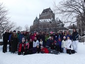 "York Middle School's 12th annual trip to Québec City and ""Carnaval!"""