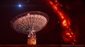 satalites pass through stars