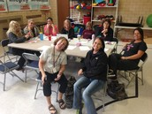 Working hard at station #1...sustaining quality programs at SWECC!