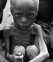 Hungry Child in Africa