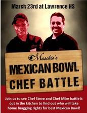 Red vs. White Chef Battle