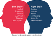 Both sides of your brain