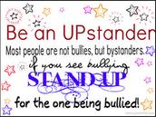 be an upstander