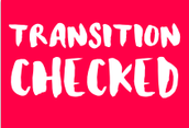 Transition Check List