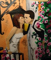 The kissing is culture. Kissing new cultures to make them
