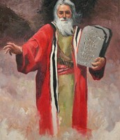 משה מביא את לוחות הברית