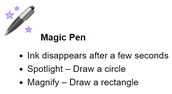 SMART Notebook Feature: The Magic Pen