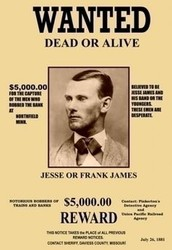 How did Jesse James die?