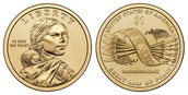 2010 D Sacagawea Dollars : Great Law of Peace  Native American Dollars