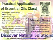 Practical Application of Essential Oils Class!