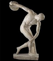 statue to support Olympic sports