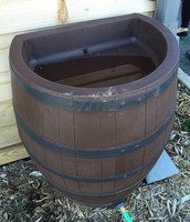 Rain barrel used for water collection