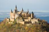 Burgen Schloss in Deutschland