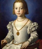 Portrait of Bia de' Medici, Daughter of Cosimo