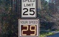 Follow the speed limit.