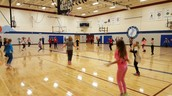 Jump Rope for Heart practice