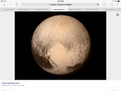 a picture of pluto when it was a planet.